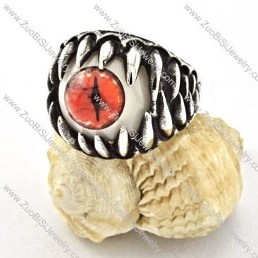 attractive nonrust steel Broken Eyeball Ring with punk style for Motorcycle bikers - r000533
