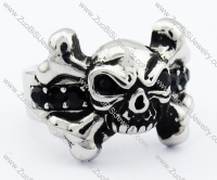Stainless Steel skull Ring - JR090282
