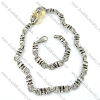 Jewelry Sets of Necklace and Bracelet -s000467