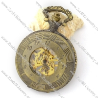 Antique Mechanical Pocket Watch with chain -pw000381