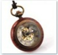 Antique Mechanical Pocket Watch with chain -pw000384