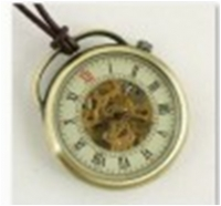 Antique Mechanical Pocket Watch with chain -pw000387