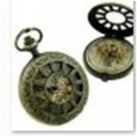 Antique Mechanical Pocket Watch with chain -pw000393