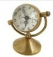 Antique Brass Mechanical Pocket Watch with chain -pw000397