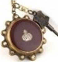 Antique Mechanical Pocket Watch with chain -pw000399
