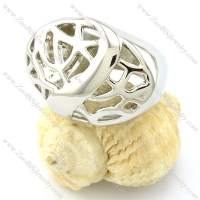Good Craft Casting Ring in Stainless Steel -r000955