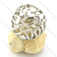 Good Craft Casting Ring in Stainless Steel -r000961