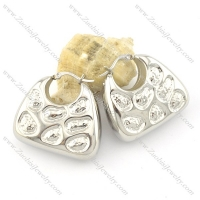 Cute Stainless Steel Purse Earring e000799