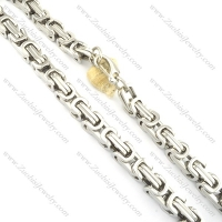 100CM Long 16MM Shiny Silver Double Link Chain Necklace in 316L Steel n000550-3