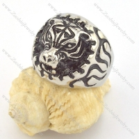 tiger ring in stainless steel for sale r001345