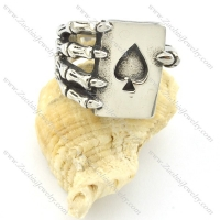 casting finger ring with LOVE heart r001221