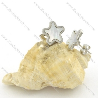 stainless steel special earring e000726