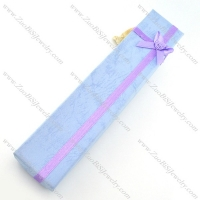 light purple paper necklace boxes pa0013