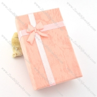 pink paper jewelry boxes for matching jewelry pa0011