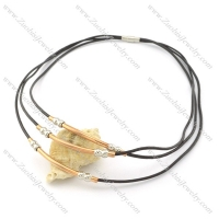leather necklace n000450