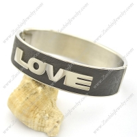 LOVE Leather Bangle b002988