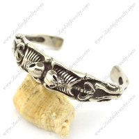 Two Skeleton Bangle for Strong Man b003146