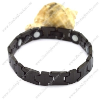Tungsten Carbide Black Bracelet b003761