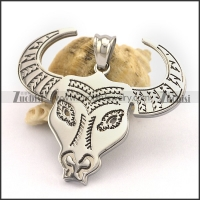 Stainless Steel Cattle Pendant p003251