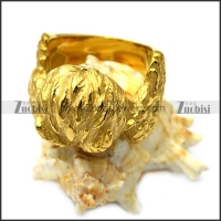 golden owl ring r005651