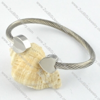 Stainless Steel Rope Bracelet - b000282