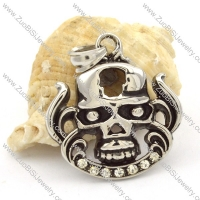 Stainless Steel Skull Pendants -p000461