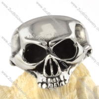 OX Nose Skull Stainless Steel ring - r000094