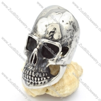 Stainless Steel Skull Ring - r000318