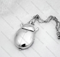 Silver Beetle Pocket Watch -PW000276