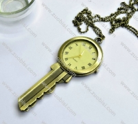 Fashion Vintage Key Pocket Watch -PW000304