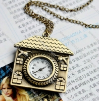 Nice House Pocket Watch -PW000331