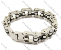 Classical Stainless Steel Bike Bracelet -JB010026