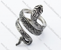 Stainless Steel Snake Ring -JR010180