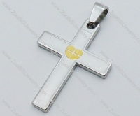 Stainless Steel Cross Pendant -JP050475