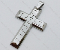 Stainless Steel Cross Pendant -JP050552