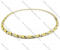 Stainless Steel Magnetic Necklace - JN250002
