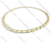 Stainless Steel Magnetic Necklace - JN250004