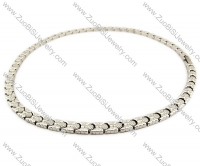 Stainless Steel Magnetic Necklace - JN250006