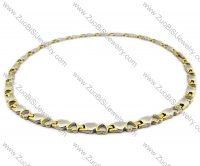 Stainless Steel Magnetic Necklace - JN250008