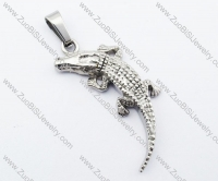 Stainless Steel cayman Pendant-JP330026