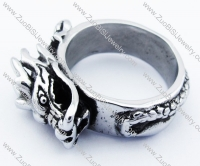 Stainless Steel Dragon Ring -JR330002