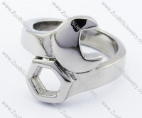 Stainless Steel Spanner Ring -JR330007