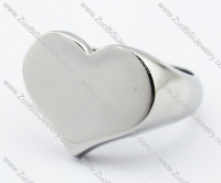 Stainless Steel Heart-shaped Ring -JR330071