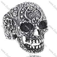 Stainless Steel Skull Ring - JR350146
