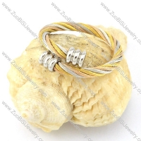 Stainless Steel Rope Ring -r000569