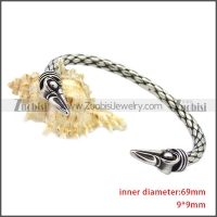 Stainless Steel Raven Bangle for Women b009817