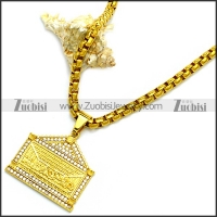 Stainless Steel Necklace n002932