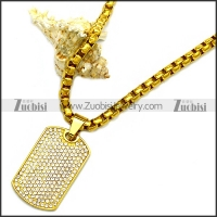 Stainless Steel Necklace n002934