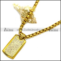 Stainless Steel Necklace n002935