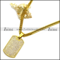 Stainless Steel Necklace n002989
